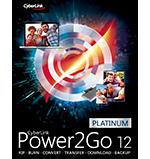 Power2Go 12 - 버닝, 백업 & 인조이 콘텐츠